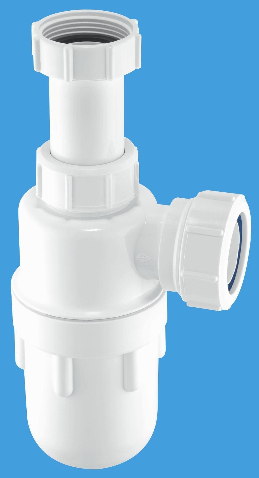 Adjustable Inlet Bottle Trap