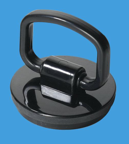 Black Plastic Plug with Handle