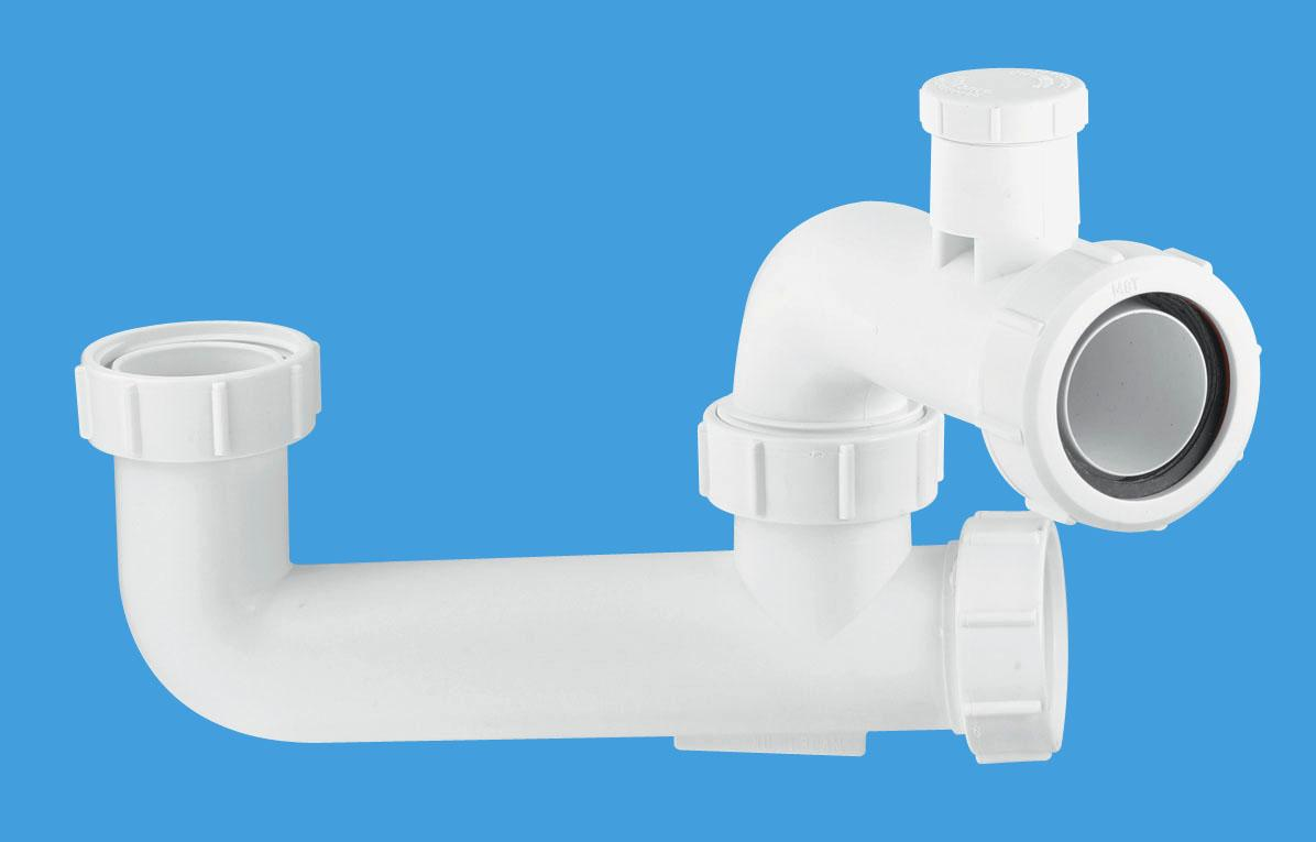 60mm Seal Anti-Syphon Extended Body Bath Trap