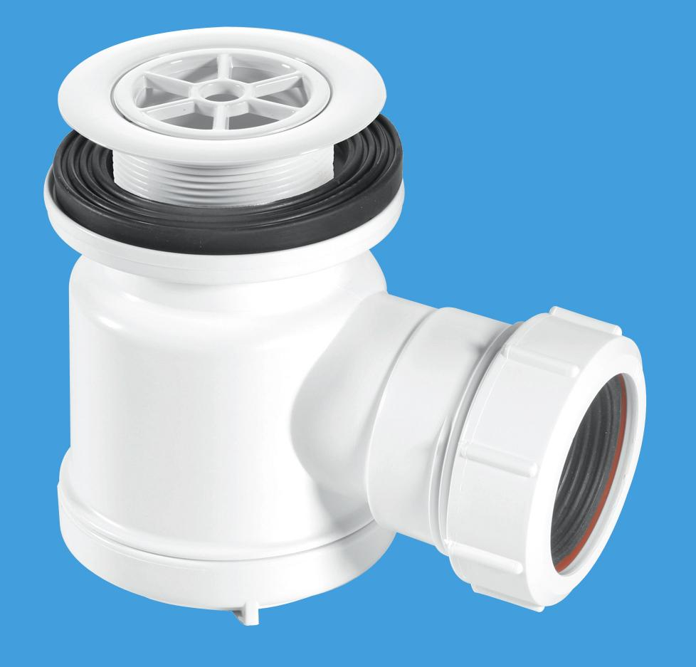 STW1-R 70mm White Plastic