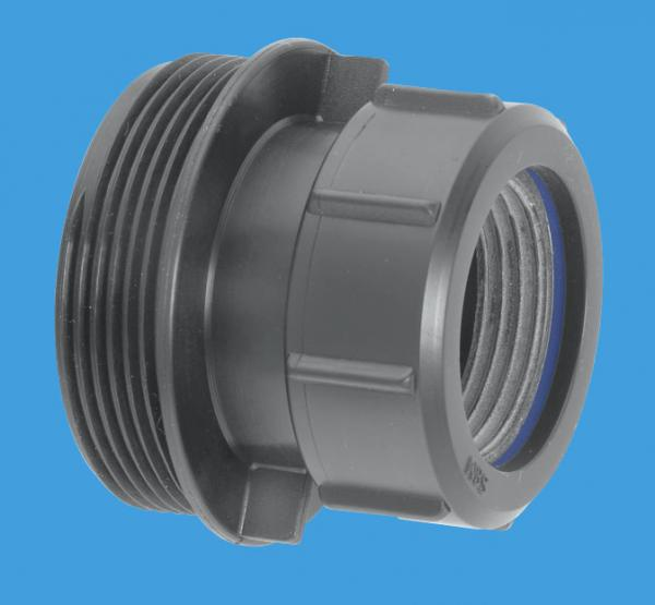 Straight Connector Multifit x 2
