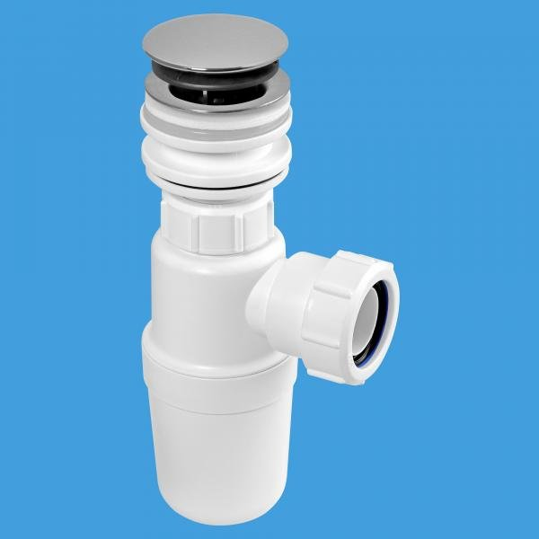 All in One Fast Fix Basin Clicker Waste with Bottle Trap