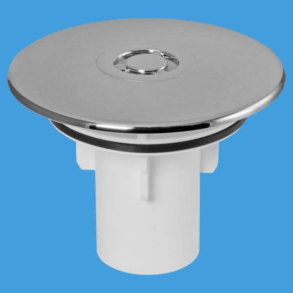 113mm CP Plastic Flange for 90mm Shower Traps