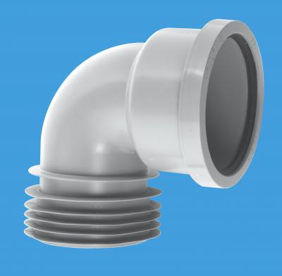 90° Bend Drain Connector | McAlpine Plumbing Products