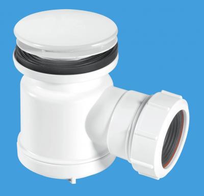 STW1-M 70mm White Plastic Mushroom