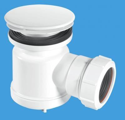 STW5-M 85mm White Plastic Mushroom