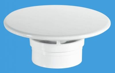 STW85WHM 85mm White Plastic