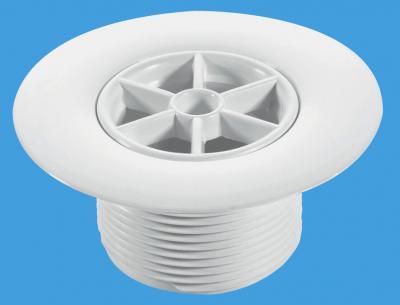 STW85WHL 85mm White Plastic
