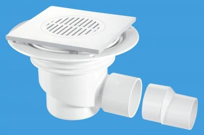 TSG1T6WH 150mm Square White ABS