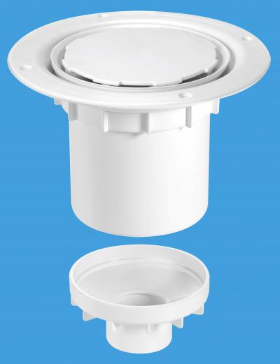 TSG2WH-NSC White Plastic without securing screws