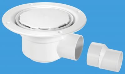 TSG50WH-NSC White Plastic without securing screws