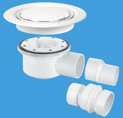 TSG52WH-NSC White Plastic without securing screws