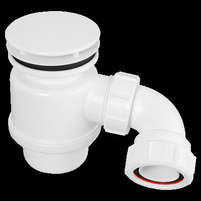 STW6-M 85mm White Plastic Mushroom