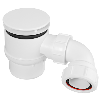 STW6M-95 85mm White Plastic Mushroom