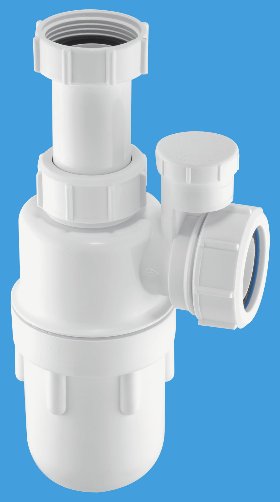 Anti-Syphon Adjustable Inlet Bottle Trap