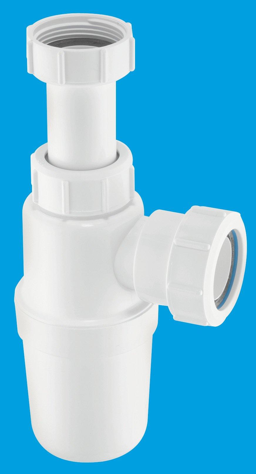 Adjustable Inlet Slim Bottle Trap