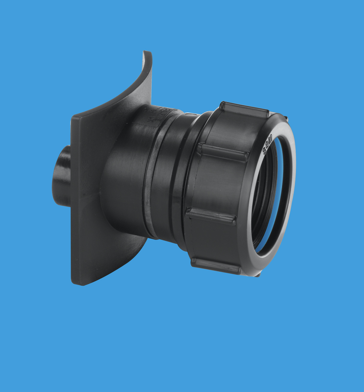 Two Piece Cast Iron Soil Pipe Boss Connector