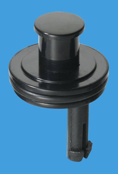 Black Plastic Captive Plug