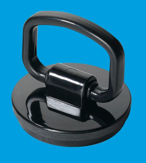 Black Plastic Plug with Handle