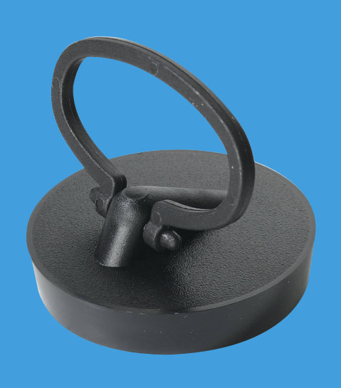 Black PVC Plug with Handle