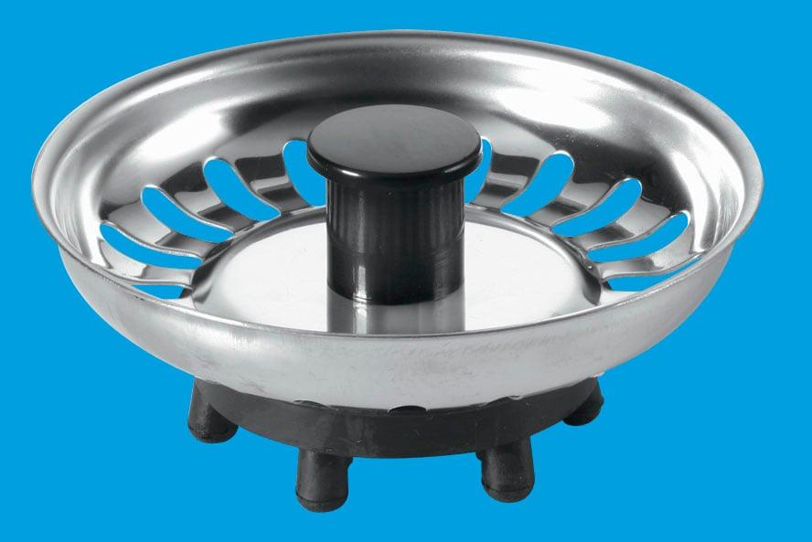 Basket Strainer Waste Plug - Rubber Seal