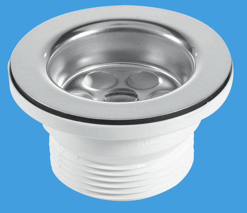 70mm Flange Centre Pin Sink Waste