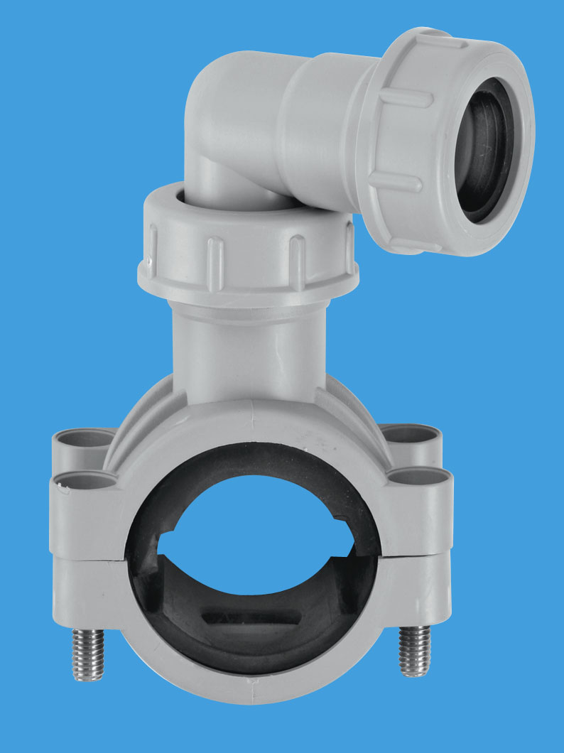 Pipe clamp mcalpine plumbing products
