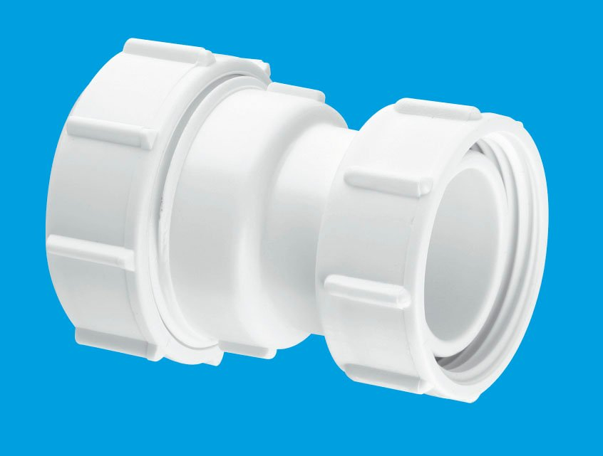 Straight Connector Multifit x BSP Coupling nut