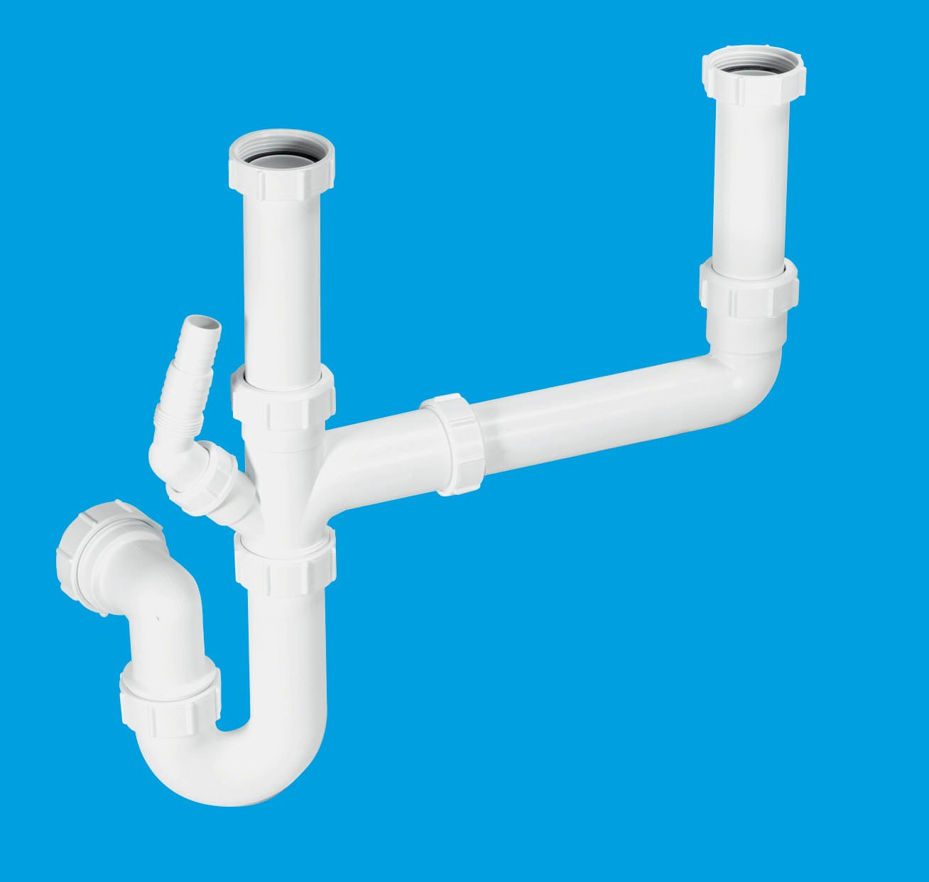 Kitchen Sink Drain Kit: McAlpine Plumbing Products