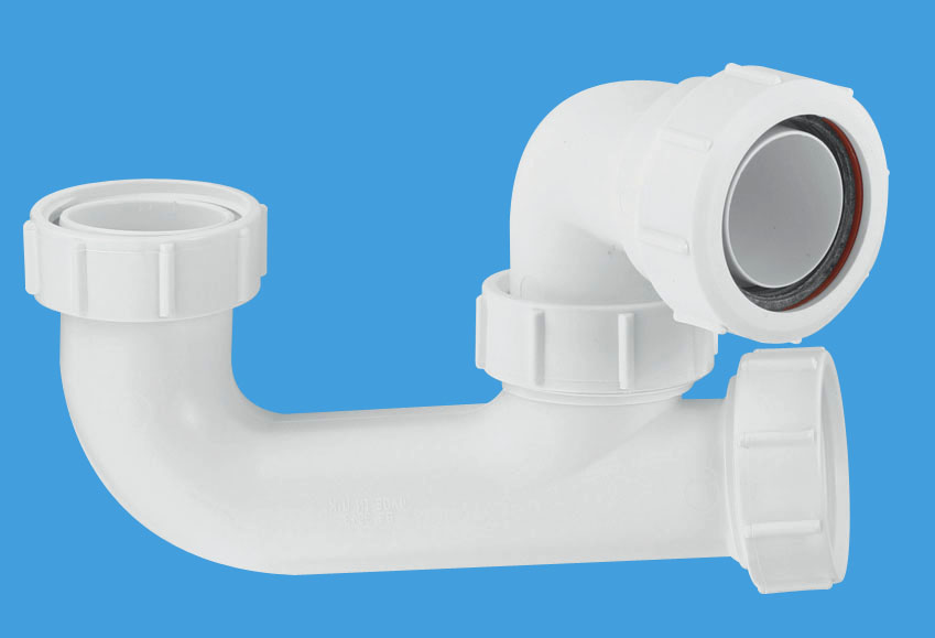 50mm Seal Bath Trap with Cleaning Eye