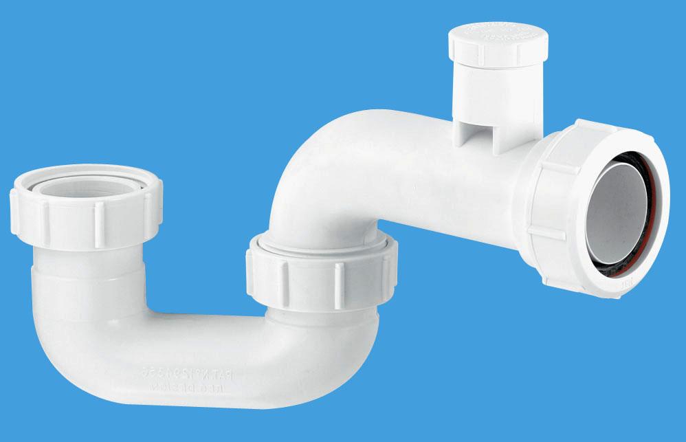 50mm Seal Anti-Syphon Bath Trap