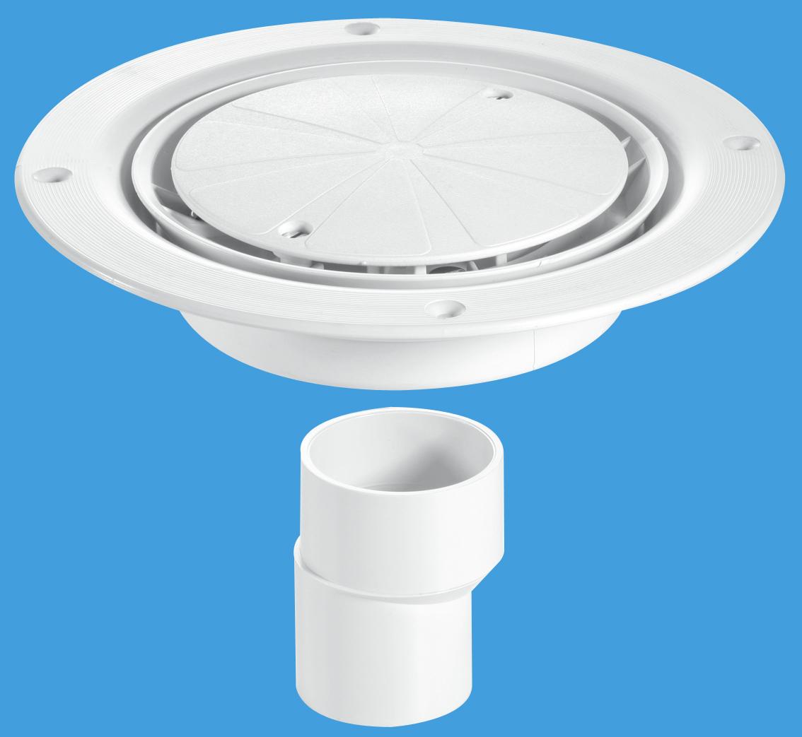 USG2WH White Plastic