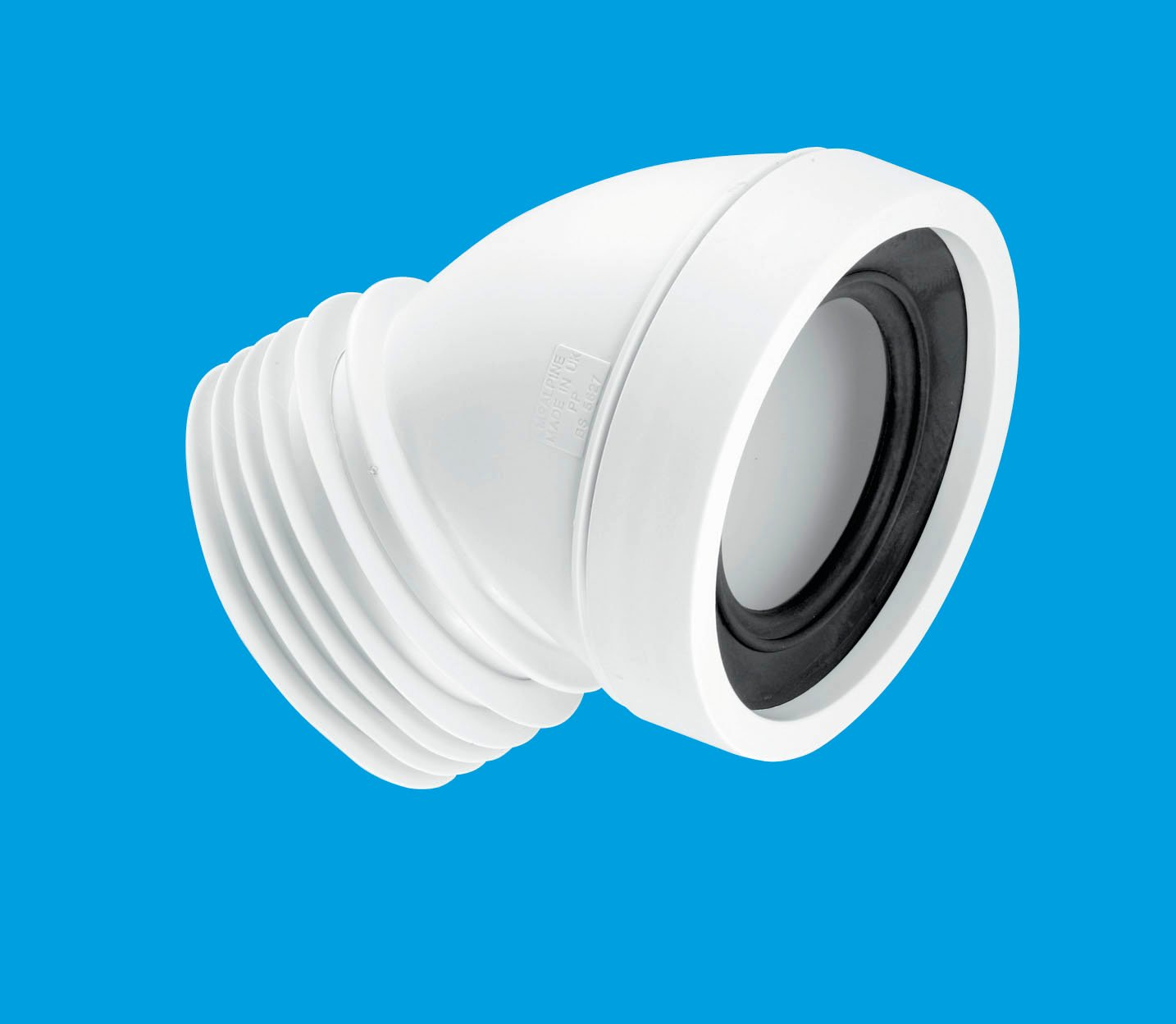 45° Angle Rigid WC Connector