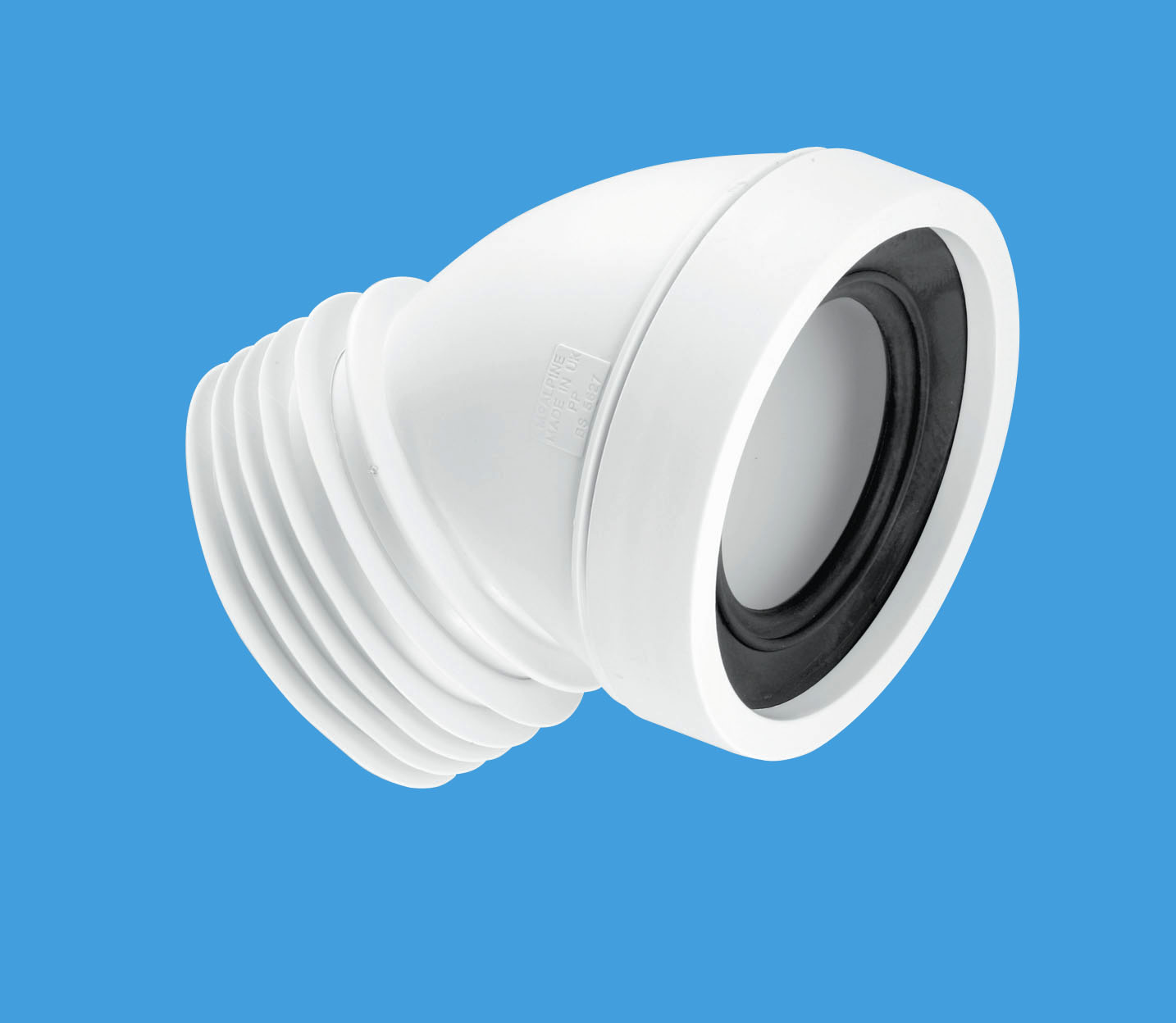 45° Angle Rigid WC Connector