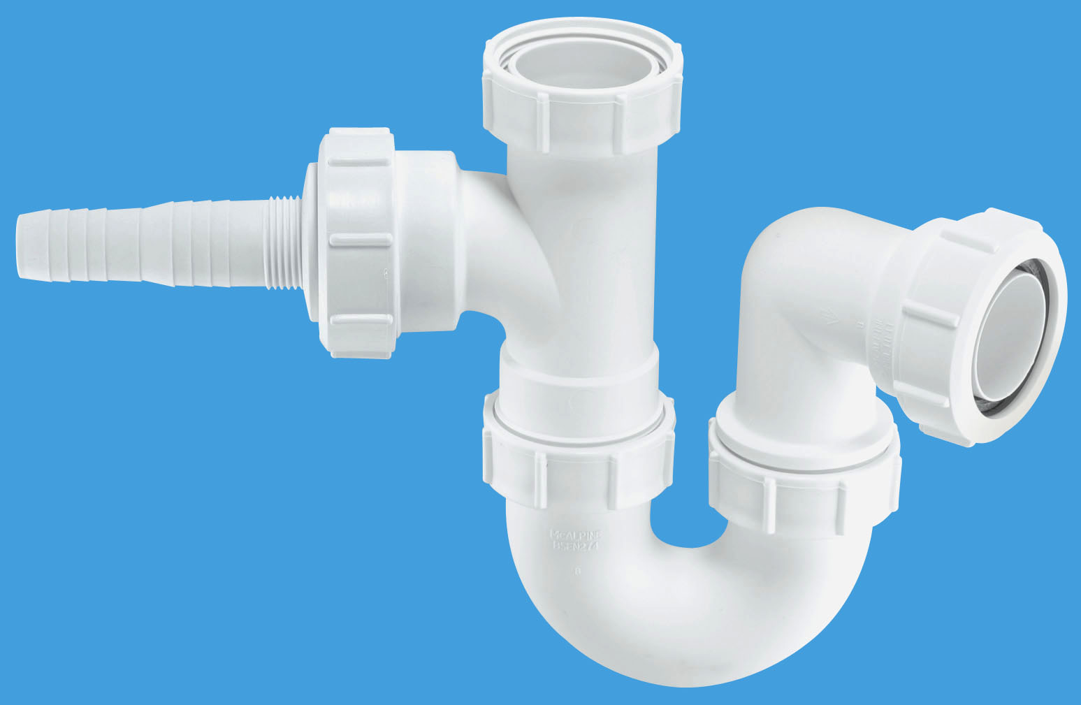 Sink Trap With Horizontal Nozzle Mcalpine Plumbing Products