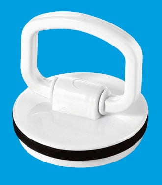 White Plastic Plug with Handle
