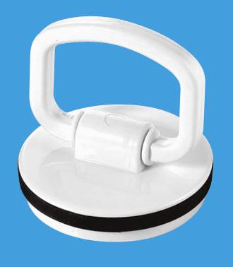 White Plastic Plug with Handle